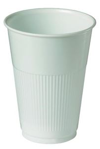 Cup-Plastic-230ml-White-Pk50-(533665)