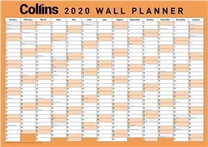 Planner-2020-A2-D/S-Wall-Unlaminated--(436096)-(107111)